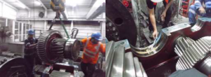 Inspection of reducer